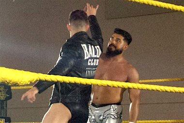 WWE・画像] 4月30日NXTライブ コ...