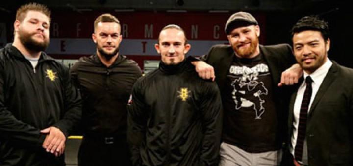 NXT5 フィン・ベイラー イタミ・ヒデオ