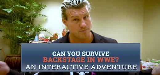 WWEバックステージ