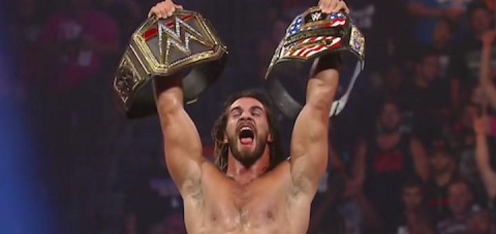 セス・ロリンズ WWE世界ヘビー級王座 US王座戦