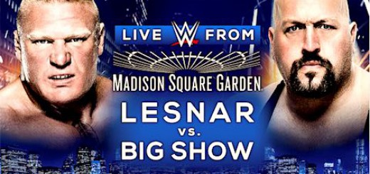 ブロック・レスナー ビッグ・ショー WWEライブMSG大会