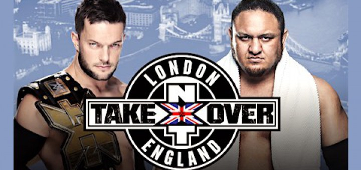 NXTテイクオーバー:ロンドン フィン・ベイラー サモア・ジョー