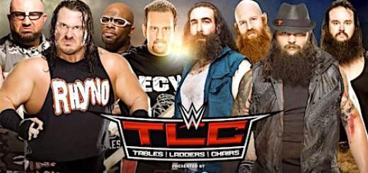 TLC 2015 ダッドリーボーイズ&トミー・ドリーマー&ライノ ワイアット・ファミリー