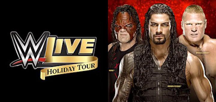 WWEライブ ブロック・レスナー