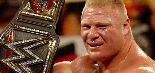 ブロック・レスナー WWE世界ヘビー級王座