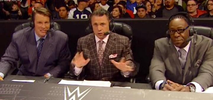 WWEアナウンサー マイケル・コール
