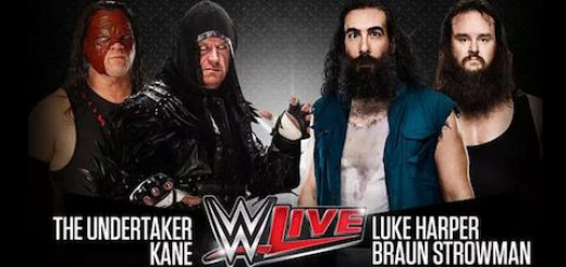 WWEメキシコツアー メリダ大会 アンダーテイカー&ケイン