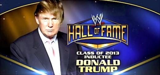 ドナルド・トランプ WWE殿堂